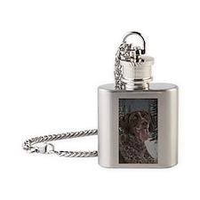 Ceramic Ornament Flask Necklace