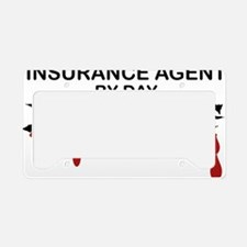 Insurance Agent Zombie License Plate Holder