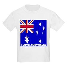 I Love Australia Kids T-Shirt