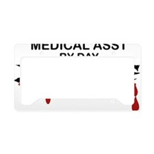 Medical Assistant Zombie License Plate Holder
