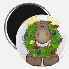Merry Christmoose Magnet