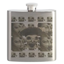 The Face of History Flask
