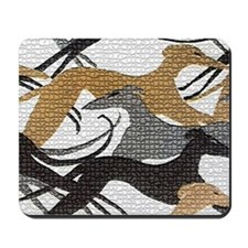 Art Deco Hounds Mousepad