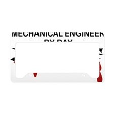 Mechanical Engineer Zombie License Plate Holder