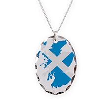 Scotland map flag Necklace