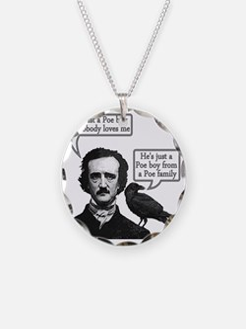 Edgar Allan Poe Riffs On Que Necklace