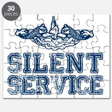 Silent Service (with Dolphins) Puzzle