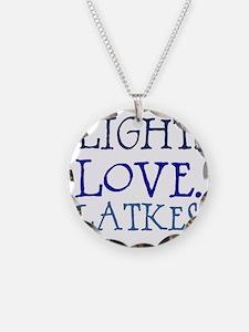 Light. Love. Latkes. Necklace