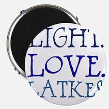 Light. Love. Latkes. Magnet
