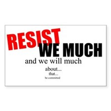 Resistance! Decal
