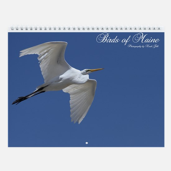 Birds Of Maine Vol III Wall Calendar By Noah Gibb