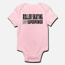 Roller Skating Is My Superpower Infant Bodysuit