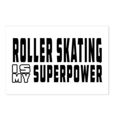 Roller Skating Is My Superpower Postcards (Package