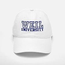 WEIL University Baseball Baseball Cap
