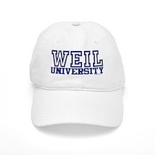 WEIL University Baseball Cap