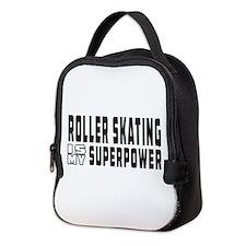 Roller Skating Is My Superpower Neoprene Lunch Bag