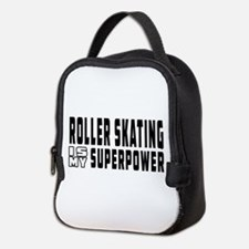 Roller Skating Is My Superpower Neoprene Lunch Bag