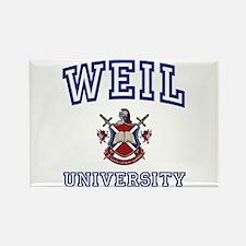 WEIL University Rectangle Magnet