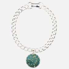 Van Gogh Almond Branches Charm Bracelet, One Charm