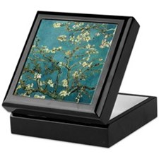 Van Gogh Almond Branches In Bloom Keepsake Box