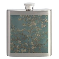 Van Gogh Almond Branches In Bloom Flask