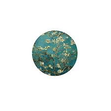 Van Gogh Almond Branches In Bloom Mini Button