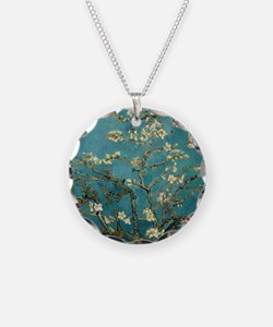 Van Gogh Almond Branches In  Necklace