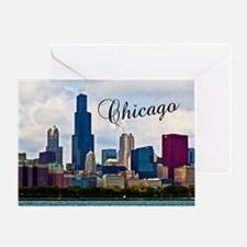 Chicago_4.25x5.5_NoteCards_Skyline Greeting Card