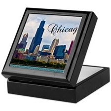 Chicago_4.25x5.5_NoteCards_Skyline Keepsake Box