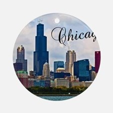 Chicago_4.25x5.5_NoteCards_Skyline Round Ornament