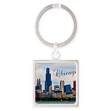 Chicago_4.25x5.5_NoteCards_Skyline Square Keychain