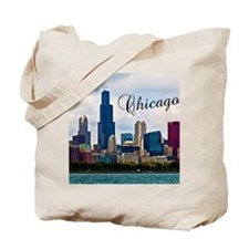 Chicago_4.25x5.5_NoteCards_Skyline Tote Bag
