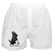 Scottish Terrier Beach Patrol Boxer Shorts