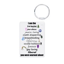 Liberal Me Keychains
