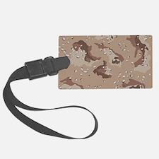 Desert camo laptop skin Luggage Tag