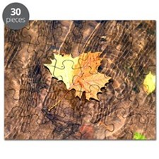 Float Leaf Rug Puzzle