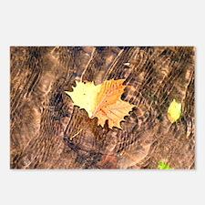 Float Leaf Rug Postcards (Package of 8)