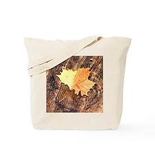 Floating Leaf Tote Bag