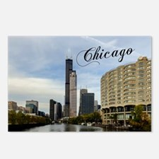 Chicago_10X8_puzzle_mouse Postcards (Package of 8)