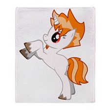 DTrace Cute Pony Throw Blanket