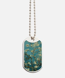 Van Gogh Almond Branches In Bloom Dog Tags