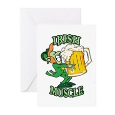 Irish Muscle 2 Greeting Cards (Pk of 10)