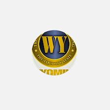 Wyoming Gold Label Mini Button