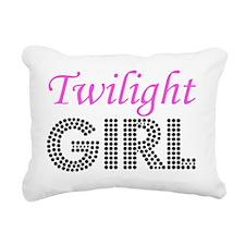 Twilight Girl Rectangular Canvas Pillow