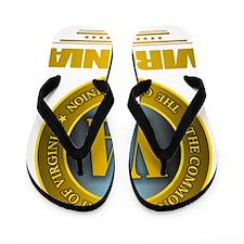Virginia Gold Label Flip Flops
