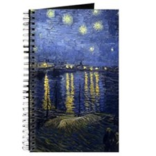 Van Gogh Starry Night Over Rhone Journal