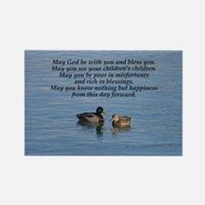 Irish Marriage Blessing Rectangle Magnet
