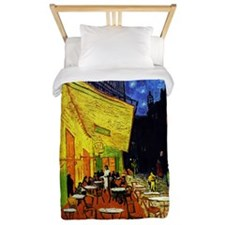 Van Gogh Cafe Terrace At Night Twin Duvet