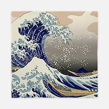 Hokusai The Great Wave off Kanagawa Queen Duvet