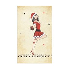 Vintage pinup tattoo flash Chr Decal